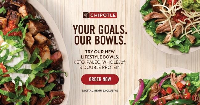 Chipotle Lifestyle Bowls