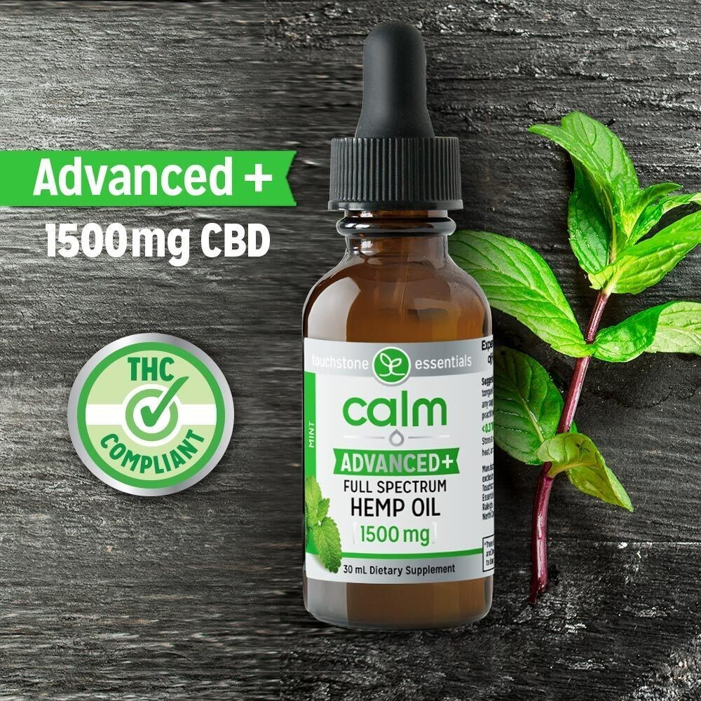 Touchstone Essentials Expands into Growing CBD Oil Market with the Launch of Calm Advanced+ Hemp Oil