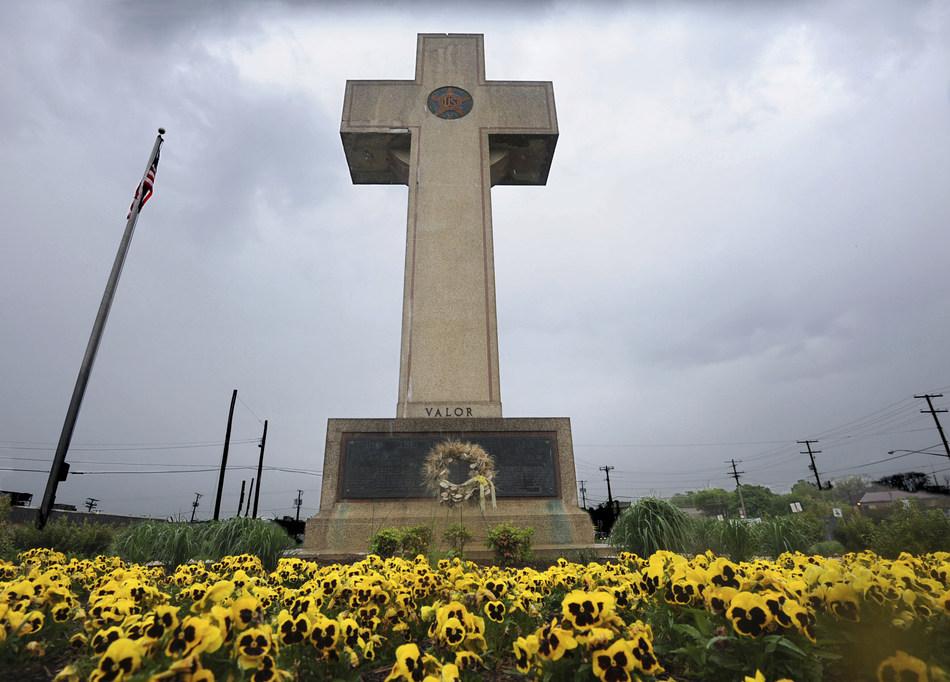 The Bladensburg Cross (Algerina Perna /The Baltimore Sun via AP, File)
