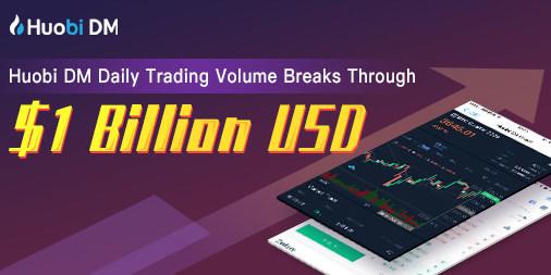 Huobi DM exceeds US $1 billion