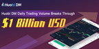 Huobi DM Daily Trading Volume Breaks Through USD $1 Billion Within 1 Month