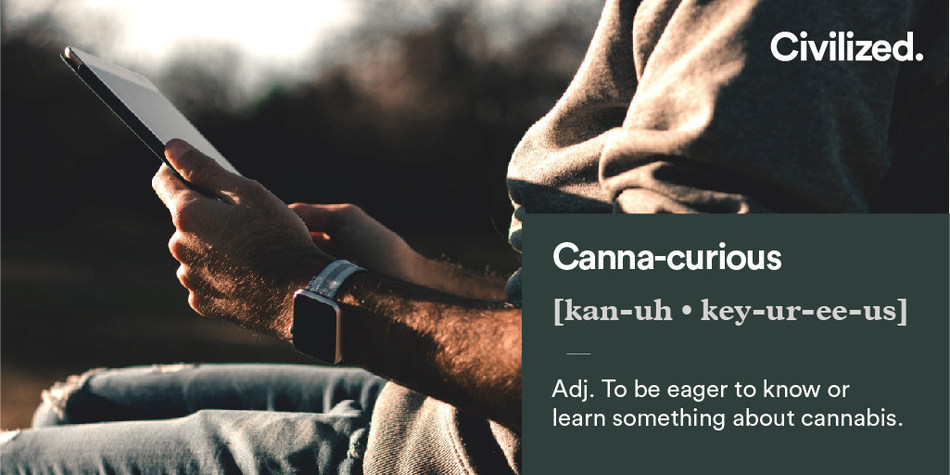 """Canna-curious"" 2018 Word Of The Year By Civilized (CNW Group/Civilized Worldwide Inc. (Civilized))"