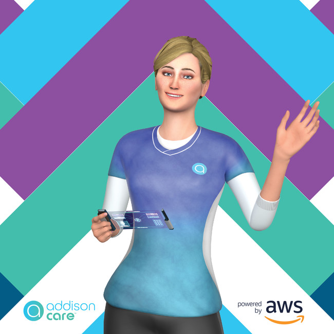 Addison, part of Addison Care, the world's first virtual caregiver.