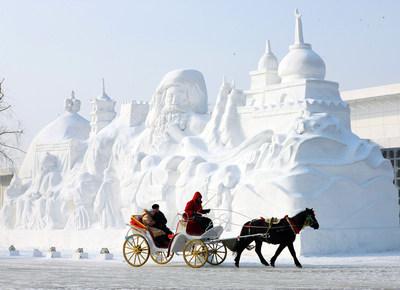 Harbin Sun Island International Snow Sculpture Art Expo