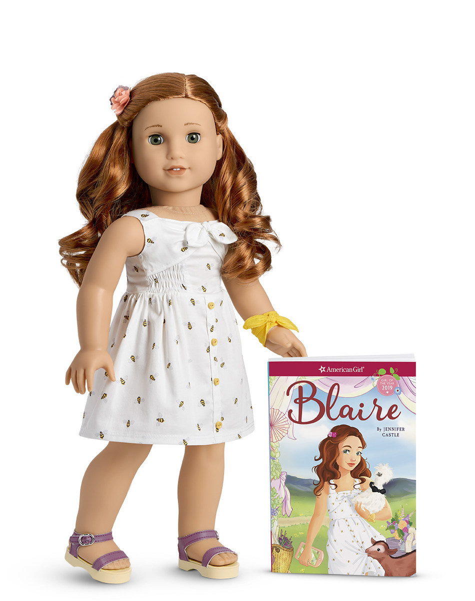 American Girl debuts its 2019 Girl of the Year, Blaire Wilson.