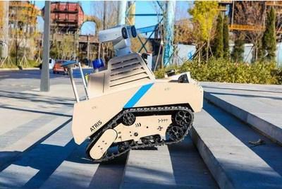 ATRIS se pone en uso dentro del Parque Shougang como proyecto de demostración (PRNewsfoto/UBTech)