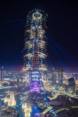 El espectáculo de Año Nuevo 2019 de Emaar
