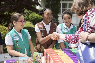 Girl Scouts today launched the 2019 Girl Scout Cookie season, celebrating the largest financial investment in girls annually in the United States and a powerful entrepreneurship incubator for the next generation of female leaders. To find Girl Scouts selling cookies near you, visit www.girlscoutcookies.org.