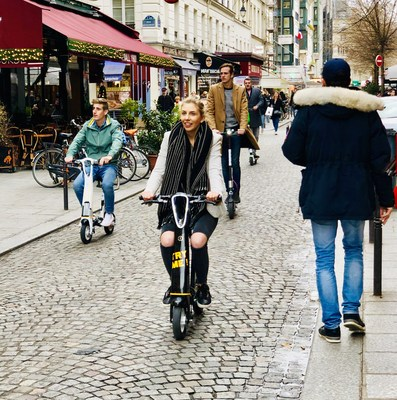 Onemile's Upgraded Scooter Offers the Sitting Pad for an Optimal Experience