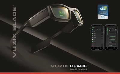Vuzix Blade Wins 2019 Innovation Award (PRNewsfoto/Vuzix Corporation)