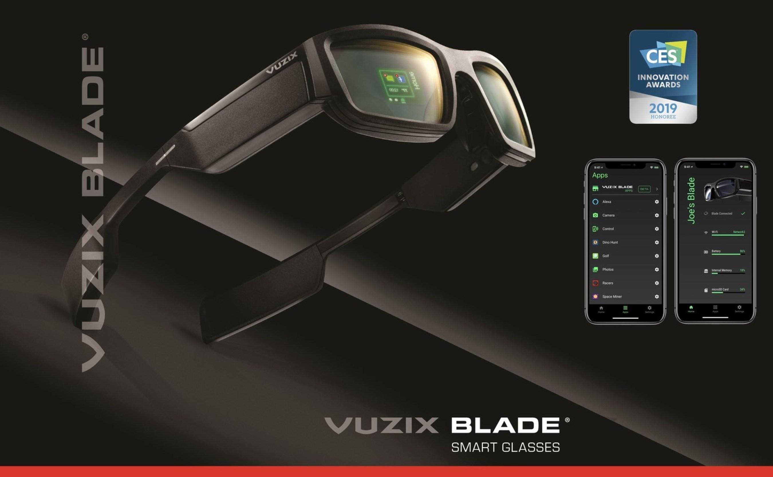 Vuzix Blade Wins 2019 Innovation Award (PRNewsfoto/Vuzix Corporation)