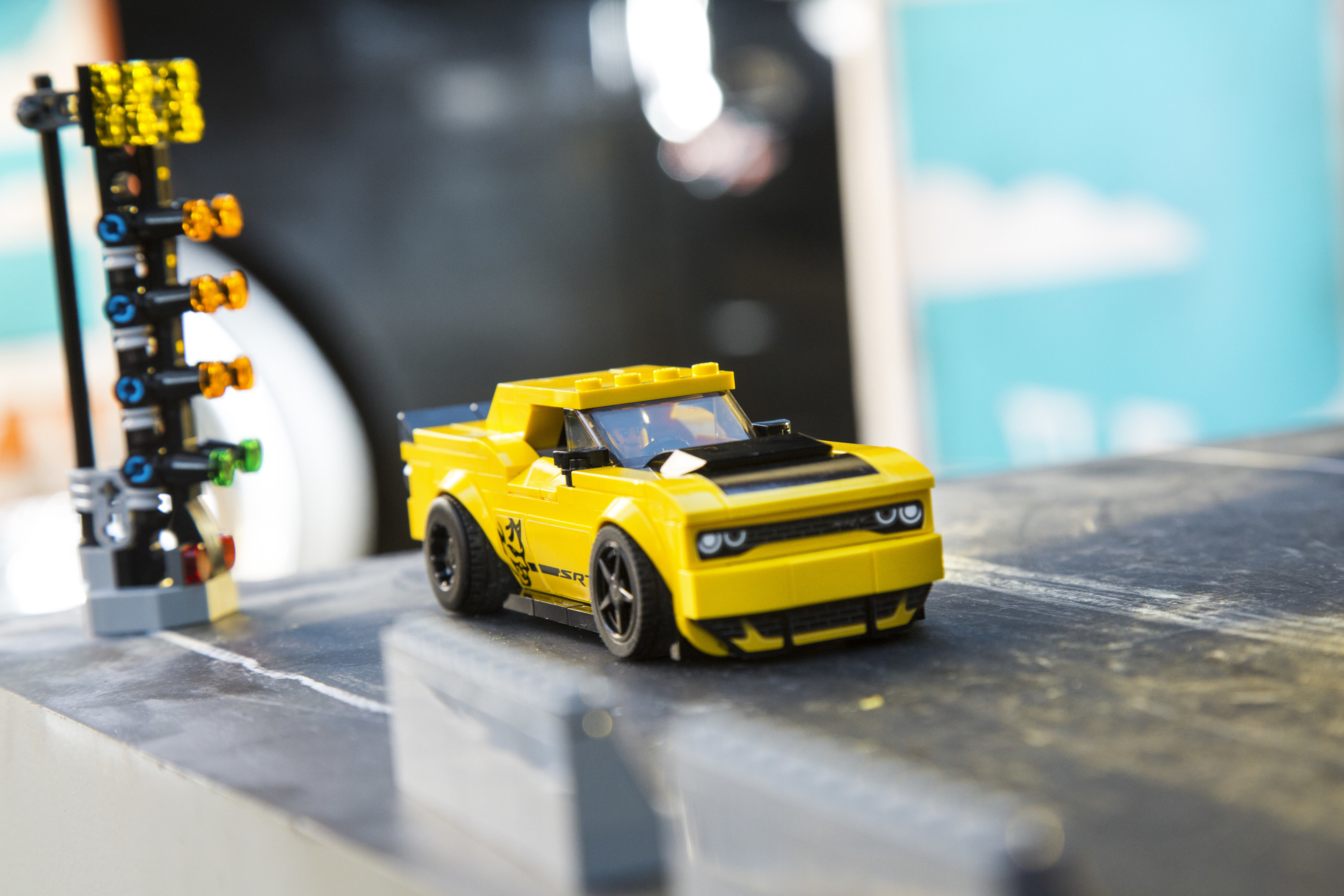 Dodge//SRT Brand and the LEGO Group launch new LEGO® Speed Champions building set featuring the 2018 Dodge Challenger SRT Demon and a 30-second televsion commercial as part of new marketing campaign