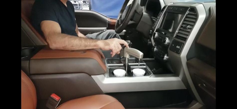 Watergen technology creating water inside vehicle.