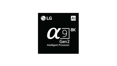 Powered by the company's second-generation α (Alpha) 9 Gen 2 intelligent processor and deep learning algorithm, LG's latest flagship TVs with ThinQ AI offer a higher level of AI picture and sound experience quality.