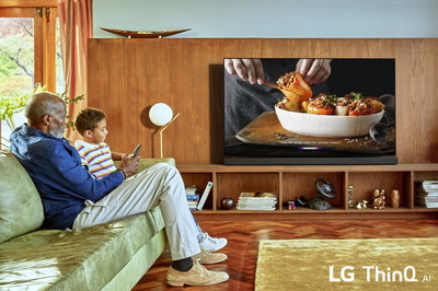 LG's 2019 TV range provides access to a selection of popular artificial intelligence services across multiple platforms, including the newly implemented Amazon Alexa in addition to the built-in Google Assistant.
