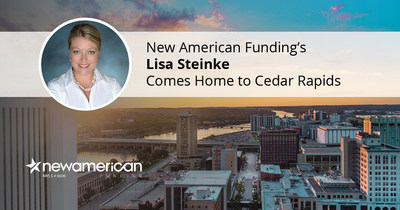 New American Funding's Lisa Steinke Comes Home to Cedar Rapids