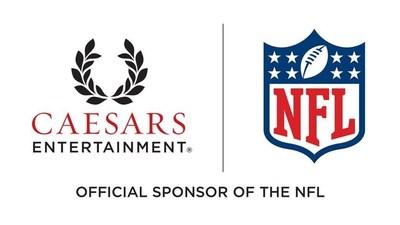 Caesars/ NFL - Official Casino Sponsor Logo