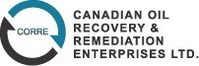 Canadian Oil Recovery and Remediation Enterprises Ltd. (CNW Group/Canadian Oil Recovery & Remediation Enterprises Ltd.)