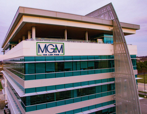 As a result of the merger, MG+M has three new locations: Madison County/St. Louis, Chicago, and New York City. Pictured here is the new MG+M Madison County/St. Louis office.