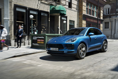 The Porsche Macan was the iconic brand's best-selling model in 2018 with 23,504 cars delivered. The new 2019 Macan is expected at U.S. dealers this summer.