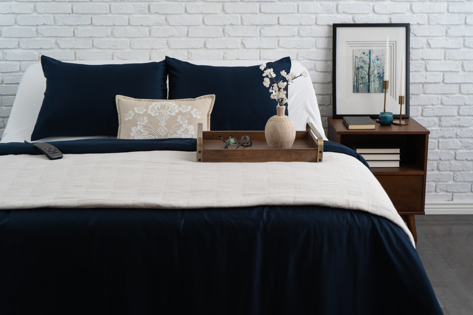 The Ascension™ Adjustable Base by Brooklyn Bedding is ergonomically designed from head to toe for customized comfort whether sleeping, working or lounging. It is one of several new sleep accessories added to the online assortment, intended to create a more holistic sleep system.