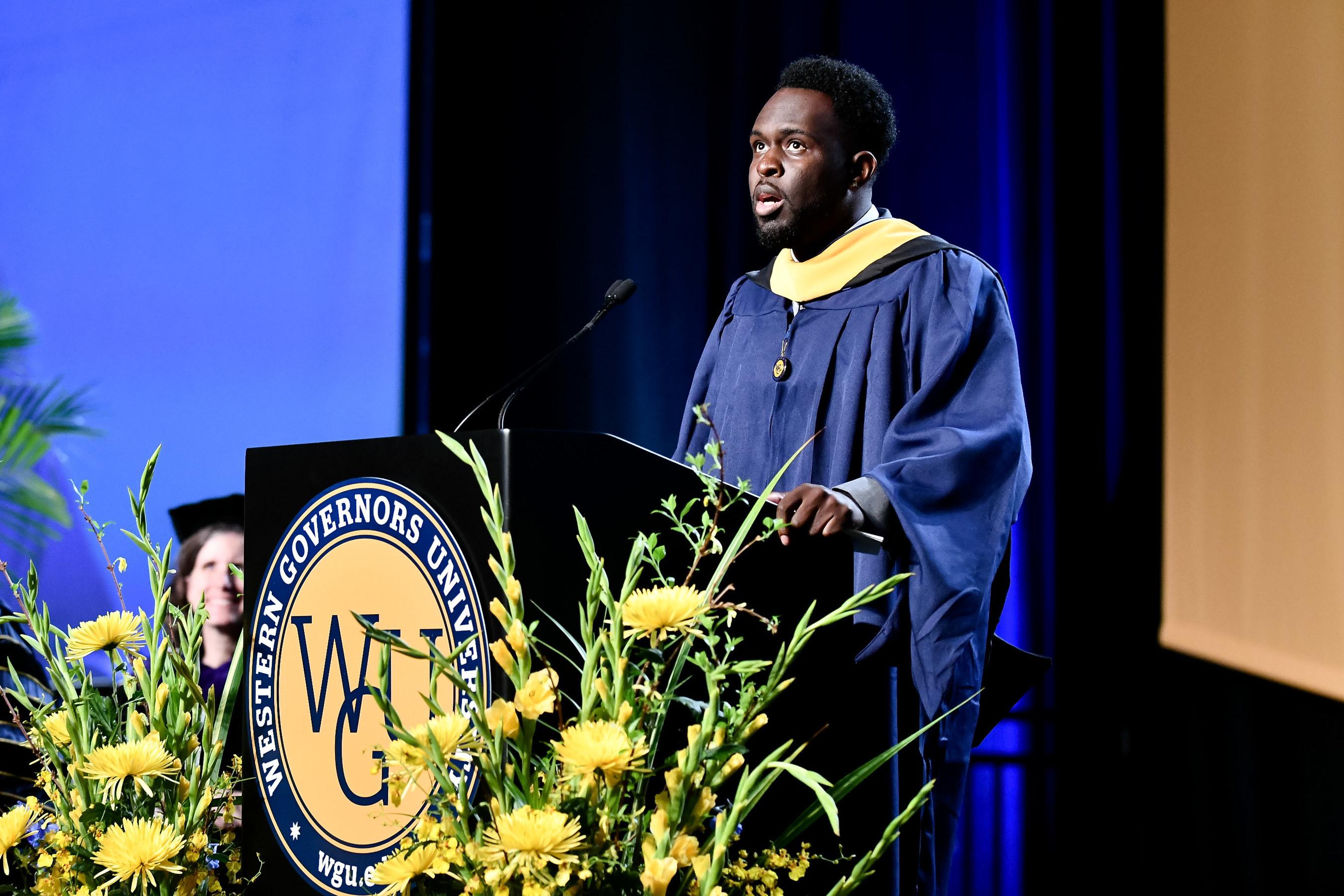 WGU Graduate Rashaan Green Named CAEL's Adult Learner of the