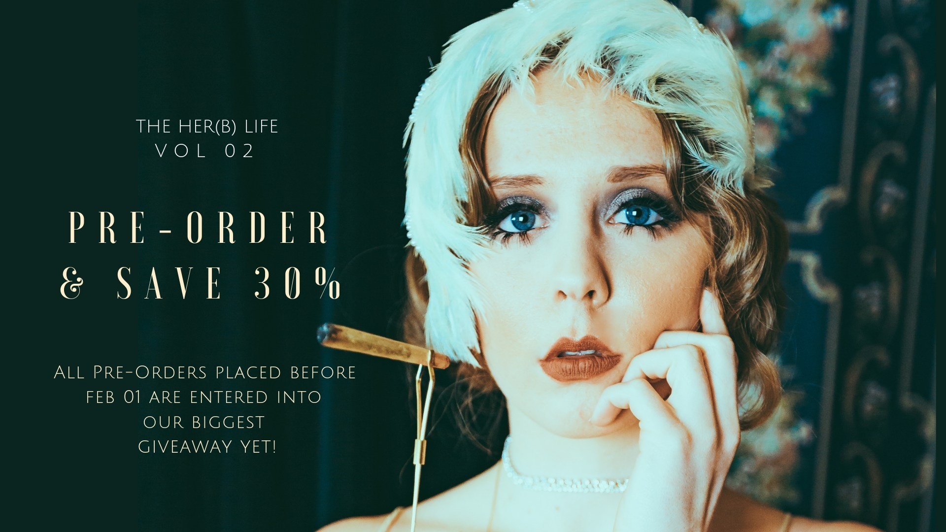 Vol 02 of Canada's leading cannabis culture publication, The Her(B) Life is available for pre-ordering now. Shopherblife.com/vol02 (CNW Group/The Her(B) Life)