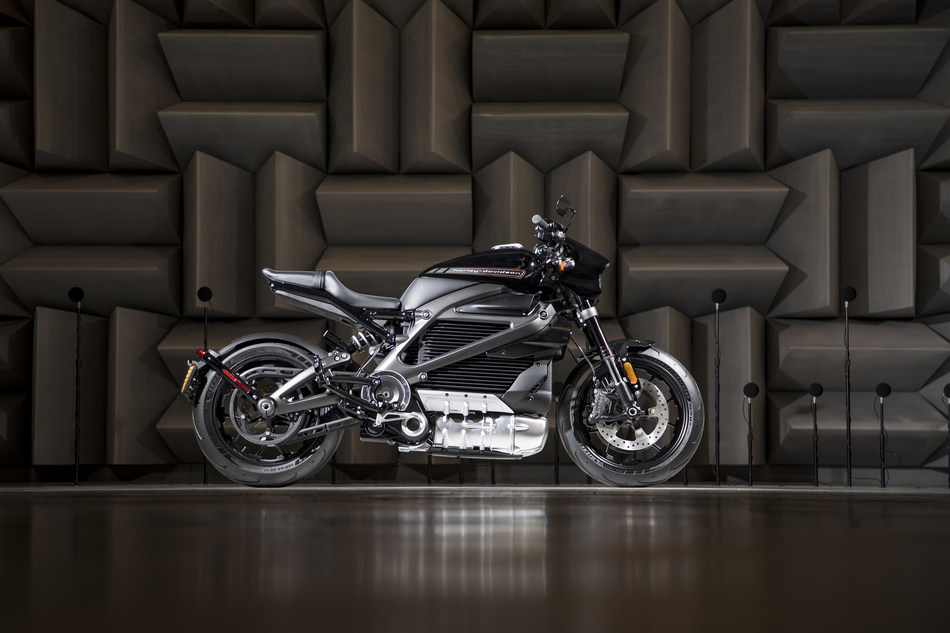 Harley-Davidson LiveWire powered by Panasonic