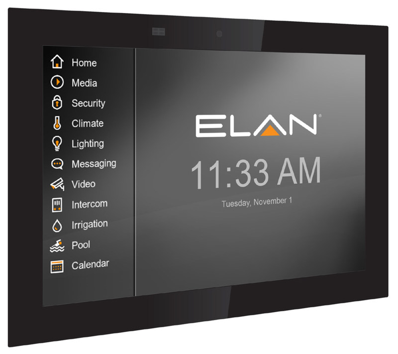 The ELAN Intelligent Touch Panel delivers more personalization options than ever before to control the connected smart home.