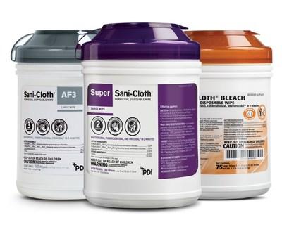 Sani-Cloth Product Portfolio
