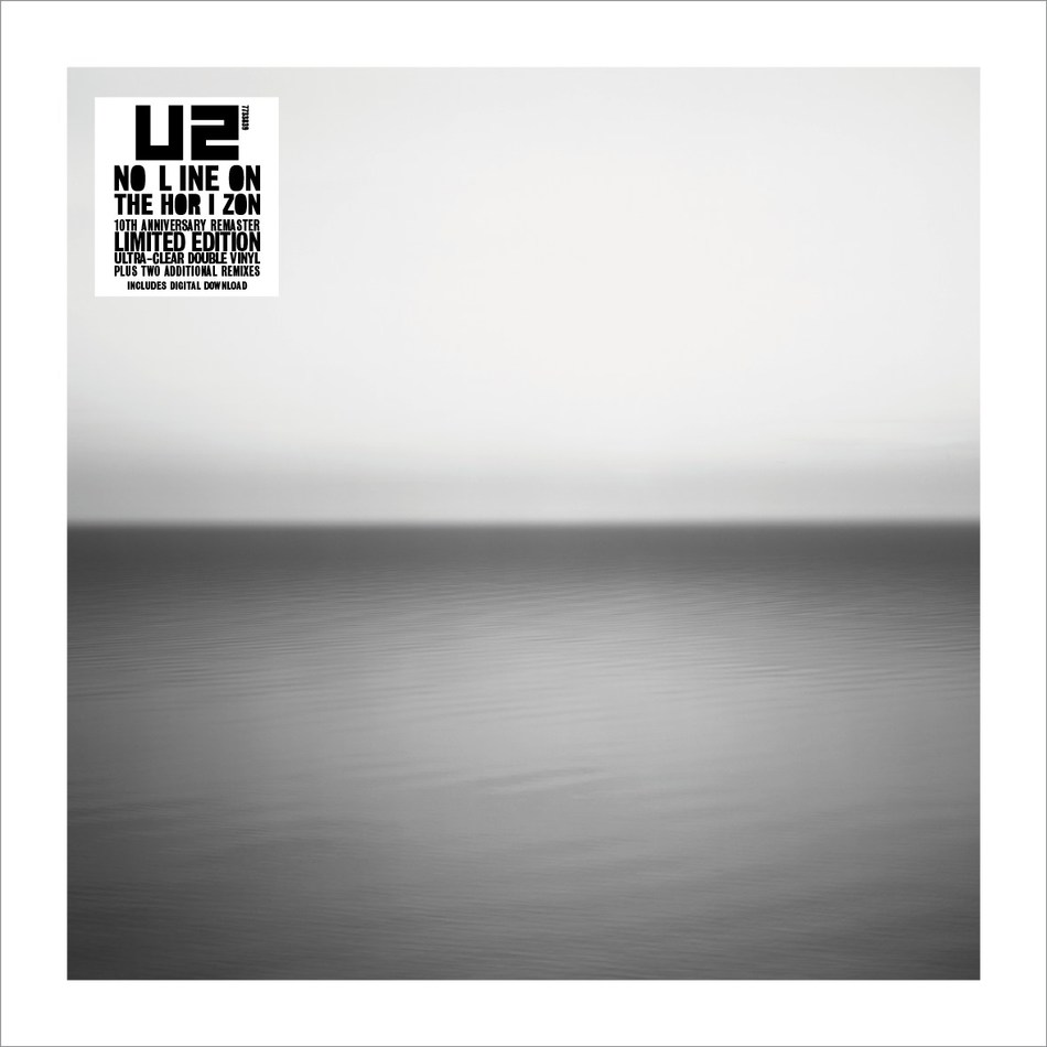 Island Records, Interscope and UMC today announce new vinyl reissues of No Line On The Horizon from U2. Remastered and pressed on 180g double LP black vinyl, plus limited edition 180g double LP ultra-clear vinyl, No Line On The Horizon (2009) will be released on February 22nd (available to pre-order from January 9th).