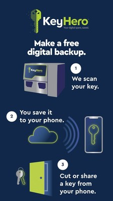 CES 2019: The Hillman Group Introduces KeyHero™, a Digital Key Backup Solution