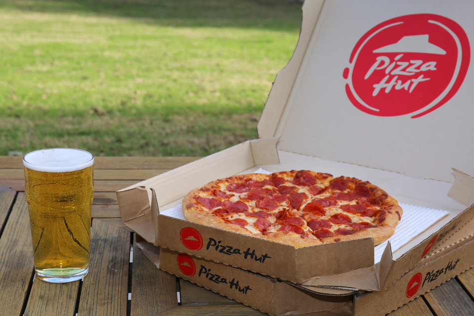 Pizza Hut is expanding to nearly 300 restaurants to its category-first beer delivery program by mid-January. The service will soon be available in seven states, including Florida, Iowa, Nebraska, North Carolina, Ohio and additional locations in California and Arizona.