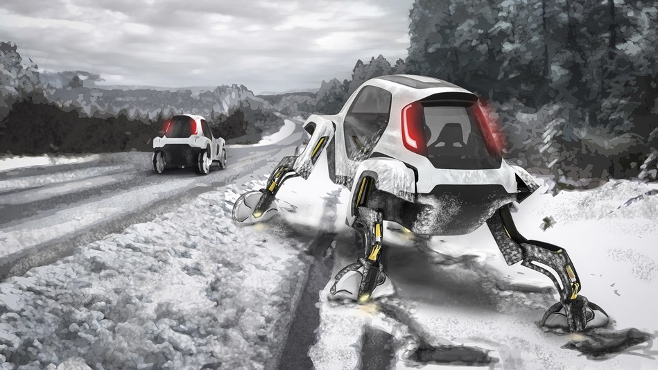 Hyundai Walking Car Concept is the Future of the First Responder Industry