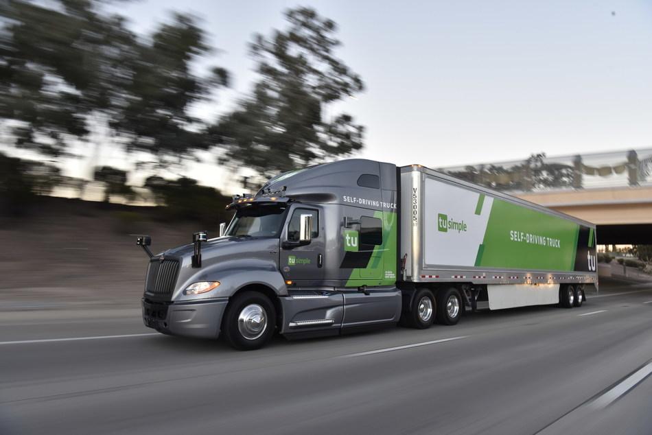 TuSimple Will Display Its New Self-Driving Navistar International LT Semi-Truck At CES 2019