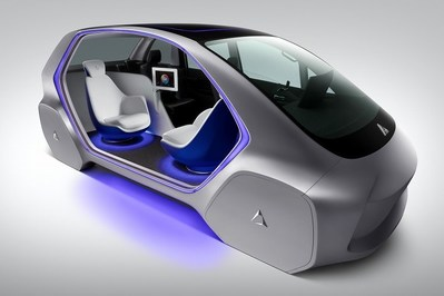 """The dual """"i-mobility TYPE-C"""" concept: automated limousine"""