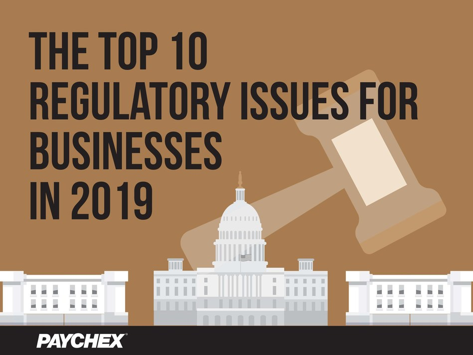 From sexual harassment prevention to paid leave laws, Paychex shares its annual list of the top regulatory changes expected to impact employers in the new year.