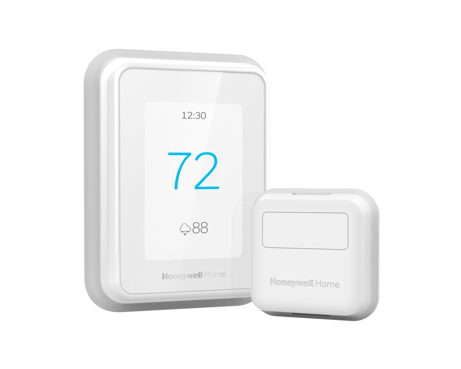 Honeywell Home from Resideo unveils latest Smart Thermostat with smart room sensors. The latest T-Series Smart Thermostats help deliver optimal temperature to bedrooms at night, living areas during the day. (Photo: T9)