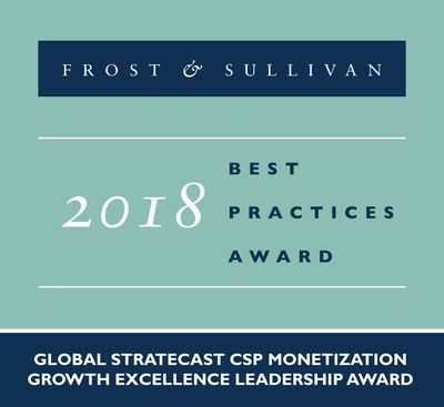 2018 Global Stratecast CSP Monetization Growth Excellence Leadership Award