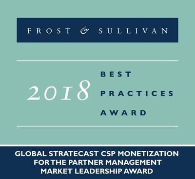 2018 Global Stratecast CSP Monetization for the Partner Management Market Leadership Award