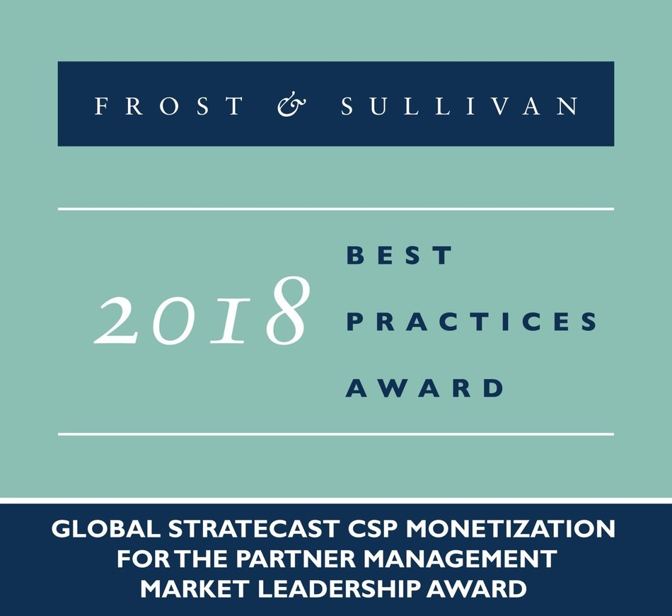 2018 Global Stratecast CSP Monetization for the Partner Management Market Leadership Award