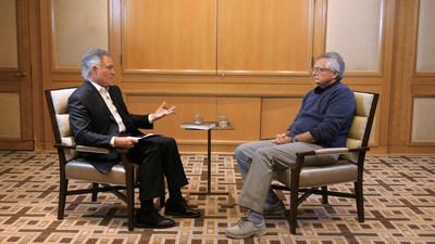 Dionisio Gutiérrez se reúne en Washington con Moisés Naím