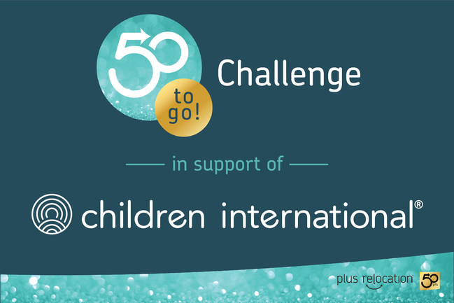 Plus Relocation's 50-to-go Challenge in support of Children International