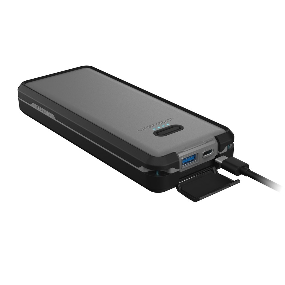 LIFEACTÍV Power Pack 20, a versatile, travel-friendly battery pack built to keep phones, tablets, laptop and hand-held gaming systems charged all day.