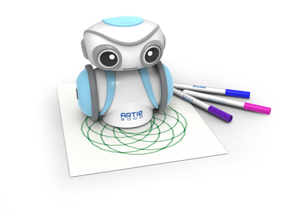 Coding meets creativity in Artie 3000™, Educational Insights' new coding robot for kids.