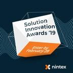 Nintex Seeks Online Entries for its 2019 Nintex Solution Innovation Awards Program