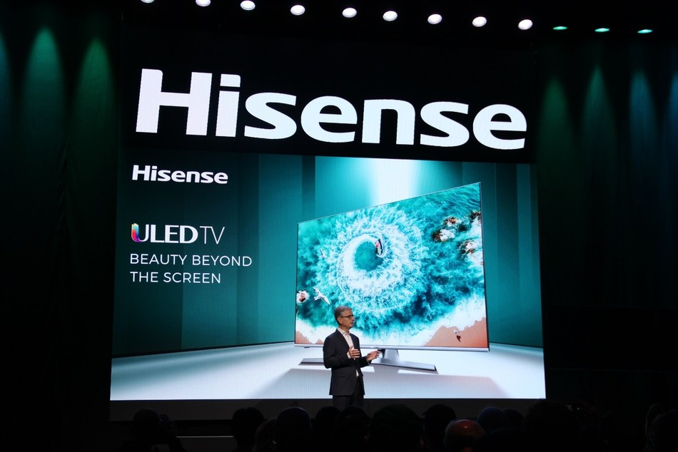 Hisense Debuts the Latest Breakthroughs in Display Technology at CES with the Unveiling of TriChroma Laser TV and Super-thin Sonic One TV