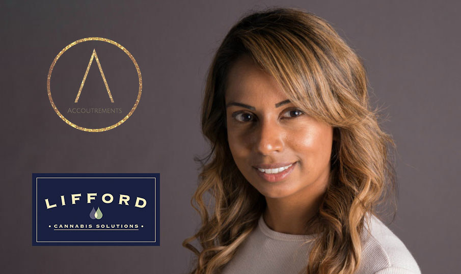 Founded by entrepreneur Heidi Fortes, Accoutrements joins Lifford Cannabis Solutions portfolio of premium brands. (CNW Group/Lifford Cannabis Solutions)
