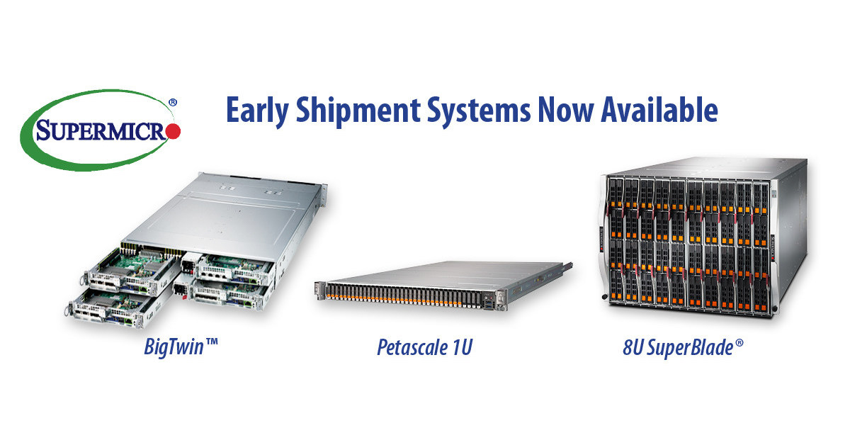Supermicro Offers Early Shipment Program for Server and