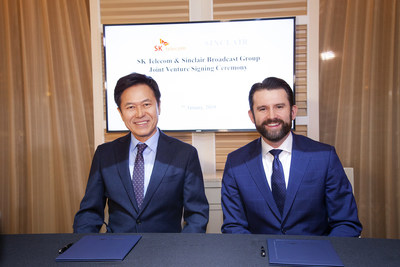 SK Telecom and Sinclair Broadcast Group Sign Joint Venture Agreement